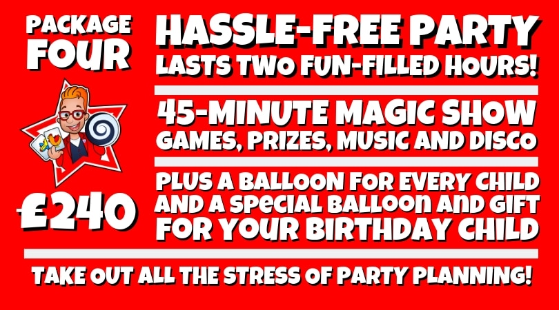 The Hassle-Free Party Package