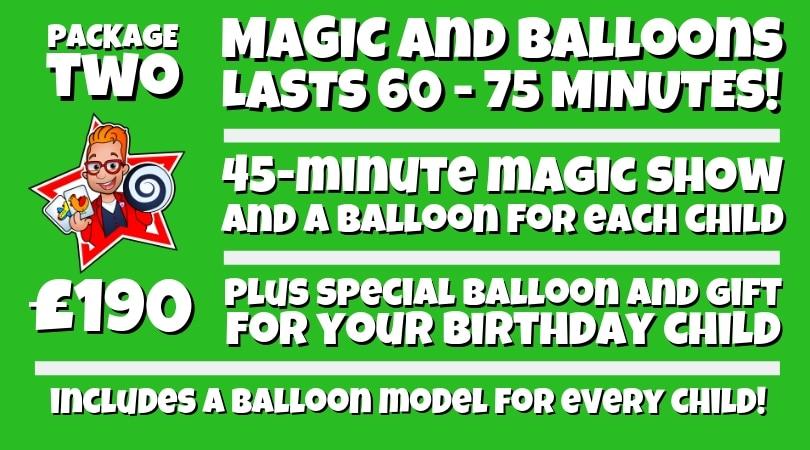 Magic & Balloons